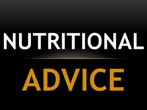 Nutritional Advice