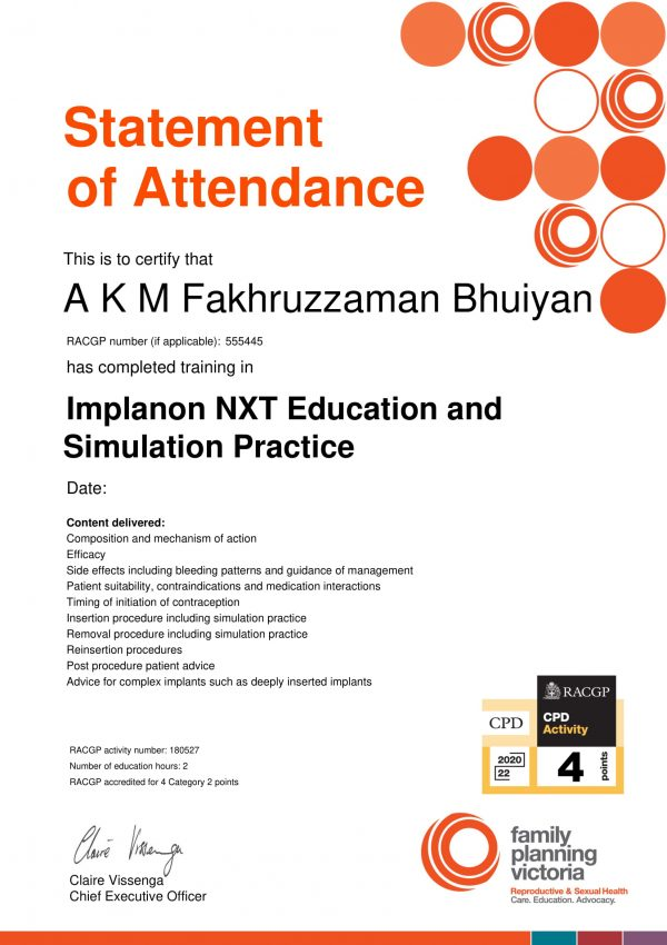 Implanon NXT Education and Simulation Practice eLearning 2021_Click here to download your Statement of Attendance-1