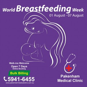 breast feeding week